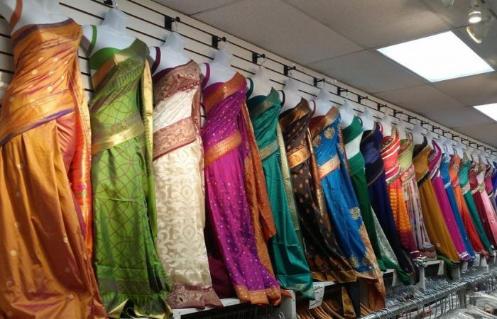 saree shopping tour